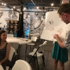 AIGA Richmond  Drink And Draw Triple Crossing
